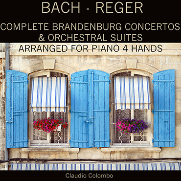 Bach-Reger: Transcriprions for Piano Four Hands