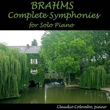 Brahms: COmplete Symphonies for solo piano