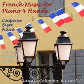 French Music for Piano 4 Hands